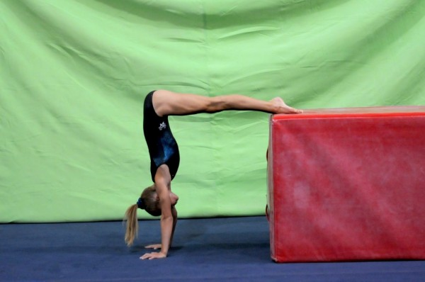 Teaching handstands