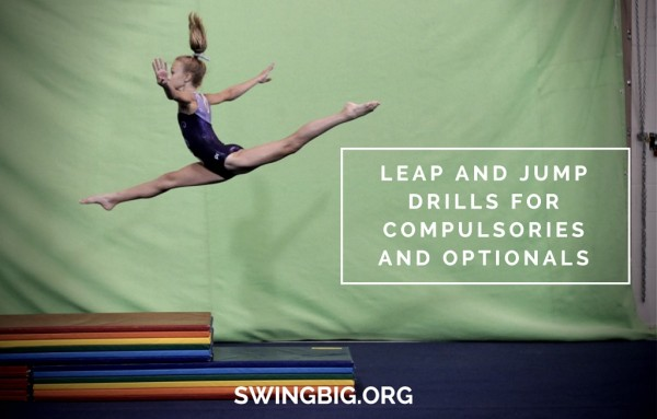 leap and jump drills for compulsories and optionals