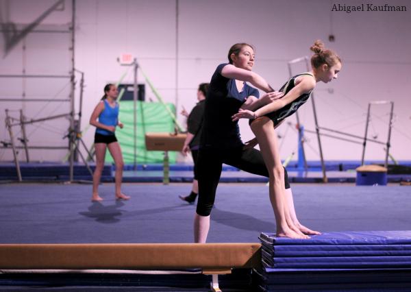 Eliminating fear in gymnasts