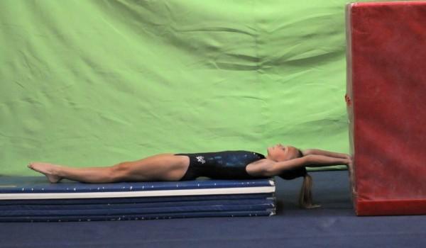 Teaching back extension rolls