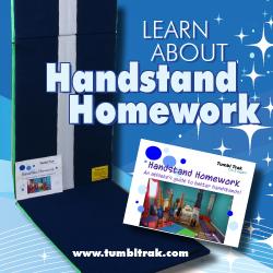 Handstand homework mat