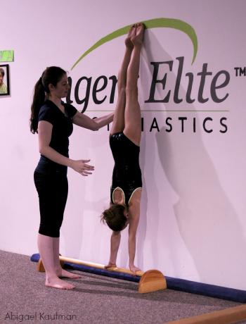 Reverse handstand quick tip