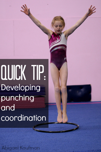 Quick Tip Developing punching and coordination