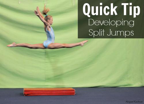 quick tip split jumps
