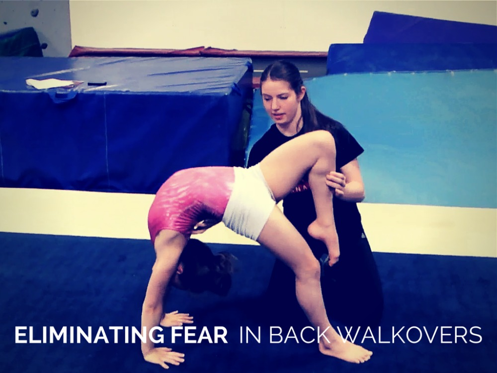 Back Walkover Videos Fear in Back Walkovers