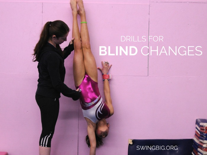 Drills for blind changes