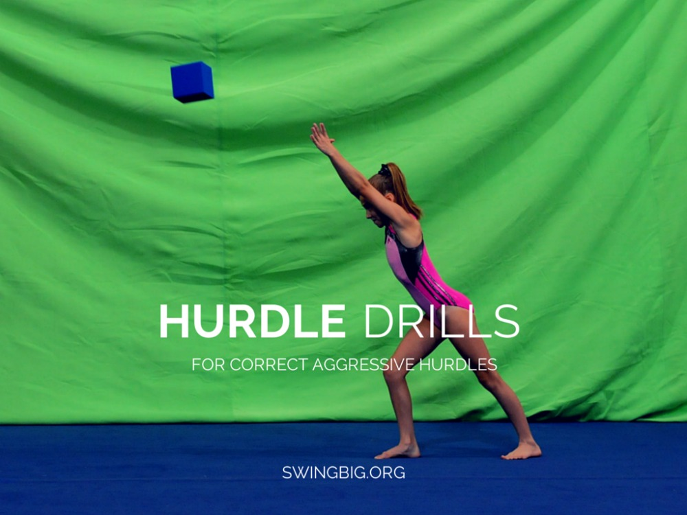 Hurdle drills - for correct aggressive hurdles