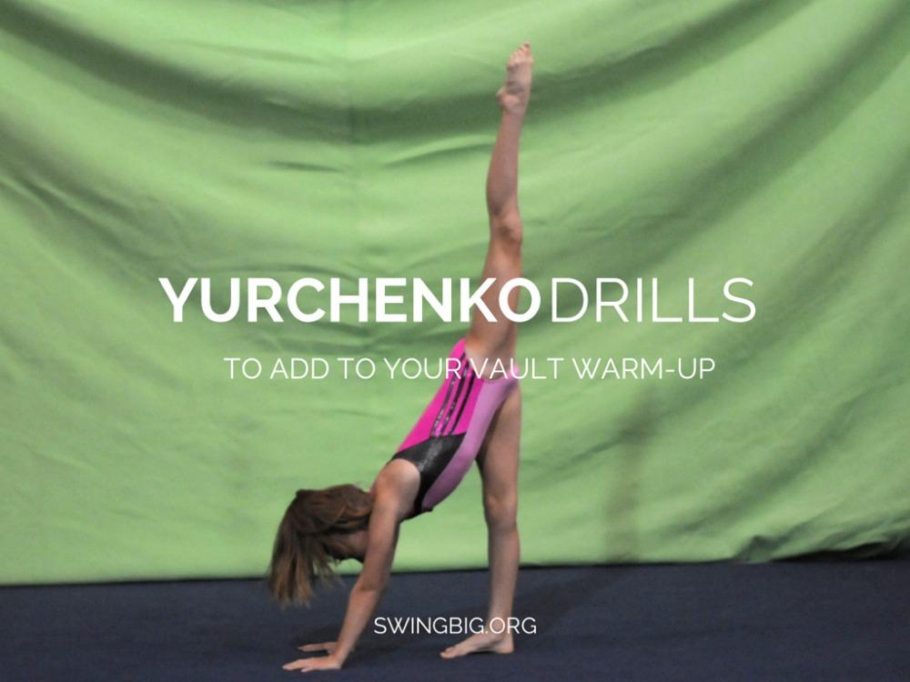 Yurchenko drills to add to your vault warm-up