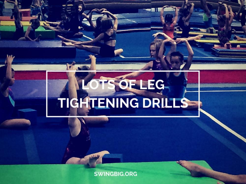 LOTS OF LEG TIGHTENING DRILLS