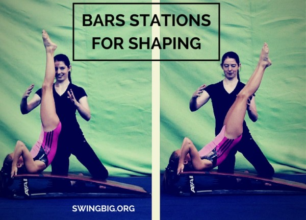 bars stations for shaping