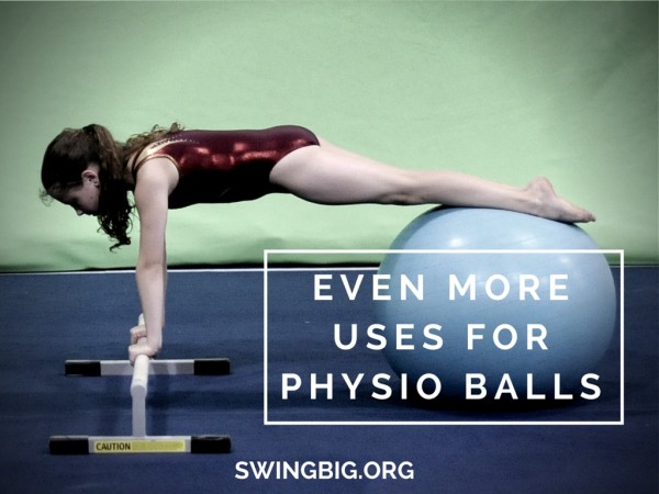 Even more uses for physio balls