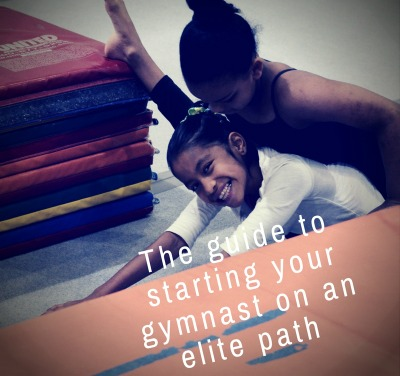 Developing an elite gymnast from the beginning